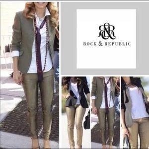 Rock & Republic Berlin Skinny Jeans New Money